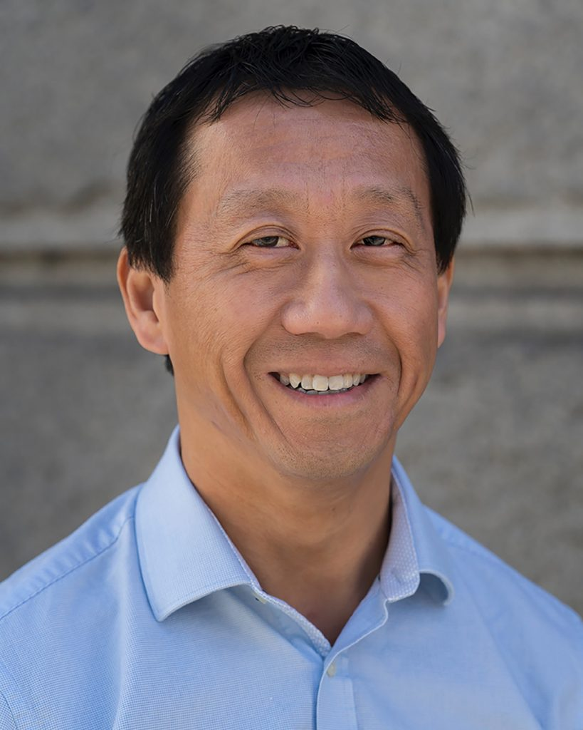 Portrait of Bill Tam
