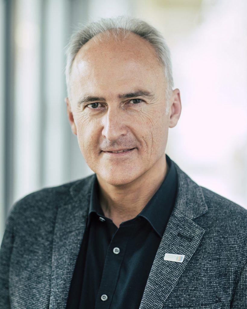 Portrait of Heinz Mayer