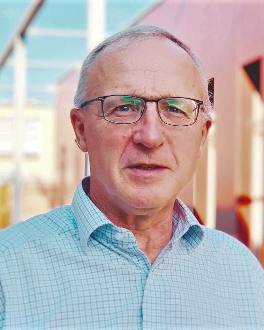Portrait of David Kennedy