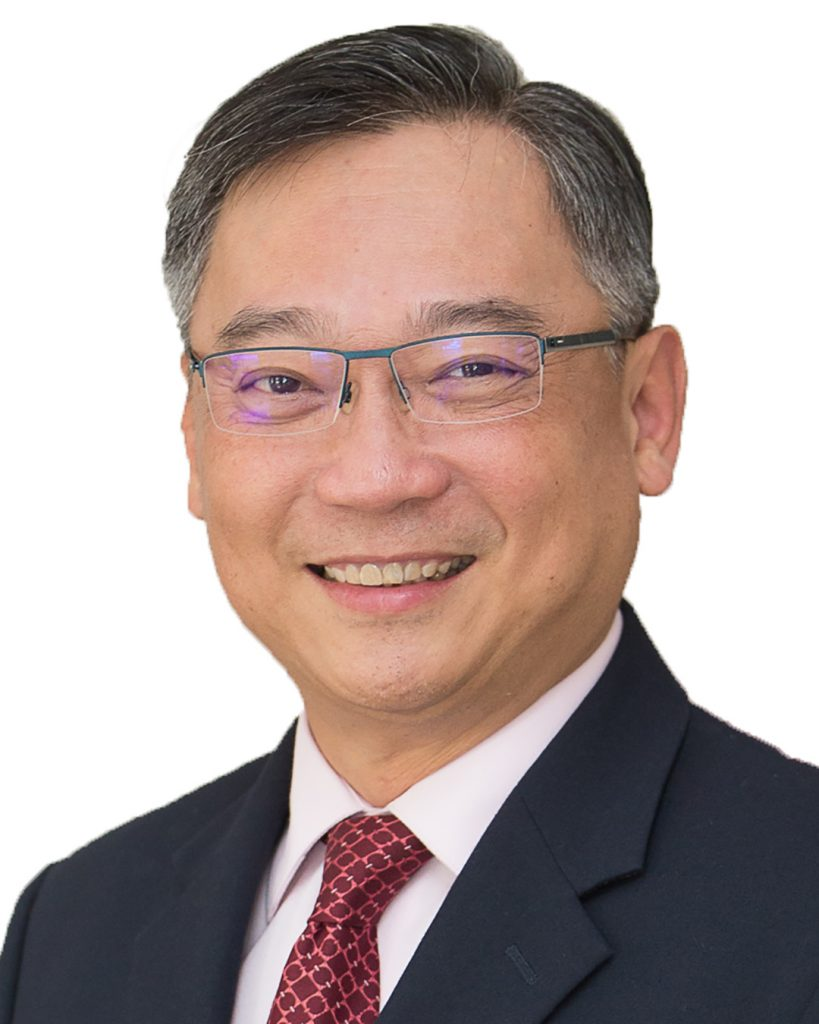 Portrait of Gan Kim Yong